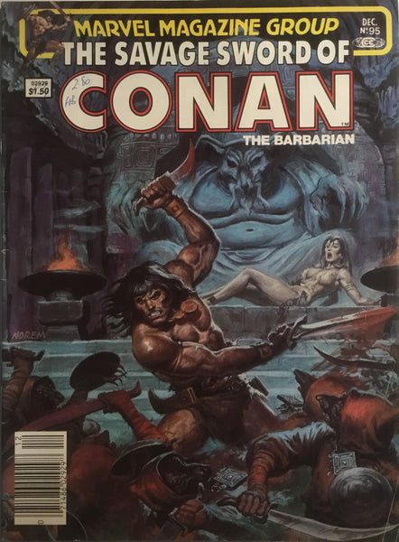 THE SAVAGE SWORD OF CONAN # 95