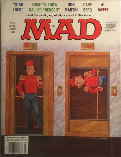 MAD MAGAZINE (USA) #216