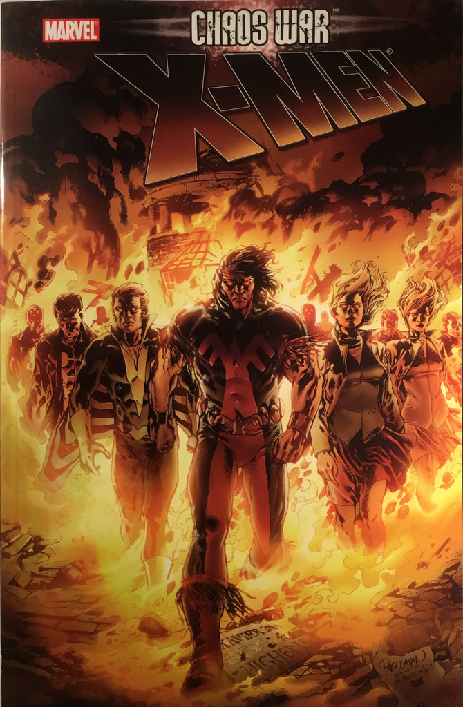 X-MEN CHAOS WAR GRAPHIC NOVEL