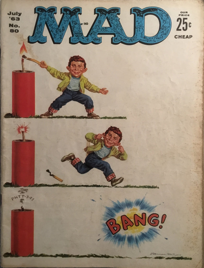 MAD MAGAZINE (USA) # 80