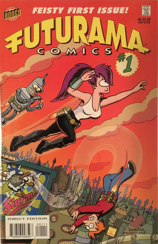 FUTURAMA COMICS # 1 - Comics 'R' Us