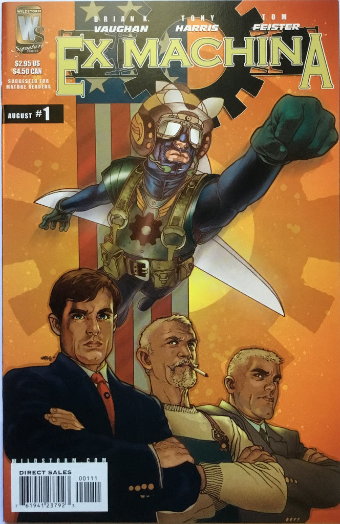EX MACHINA # 1 - Comics 'R' Us
