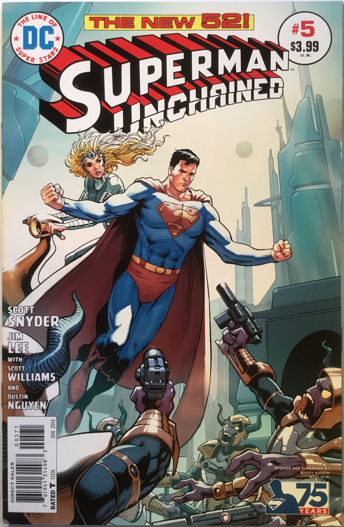 SUPERMAN UNCHAINED # 5 KITSON 1:50 VARIANT