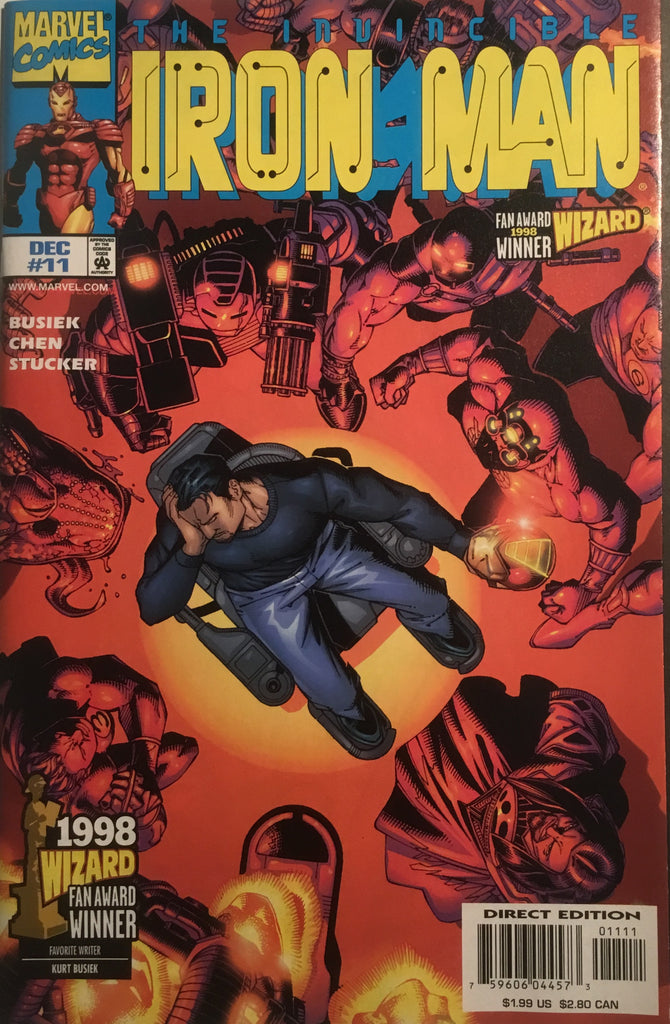 INVINCIBLE IRON MAN (1998-2004) # 11