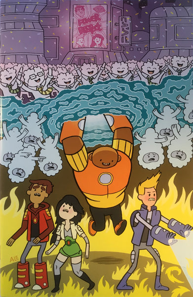 BRAVEST WARRIORS # 5 (1:15 VARIANT COVER)