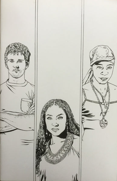 TRUE BLOOD # 6 CORRONEY SKETCH COVER (1:10 VARIANT)