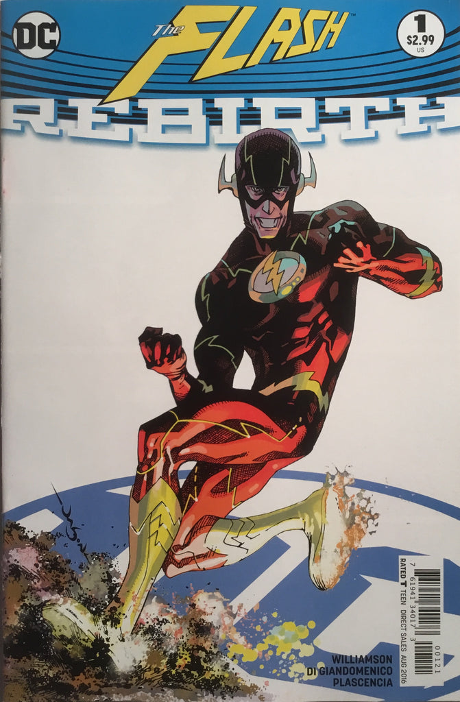 FLASH REBIRTH # 1 VARIANT COVER FIRST PRINTING - Comics 'R' Us