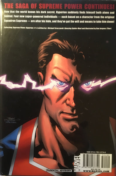 SUPREME POWER HYPERION HARDCOVER GRAPHIC NOVEL