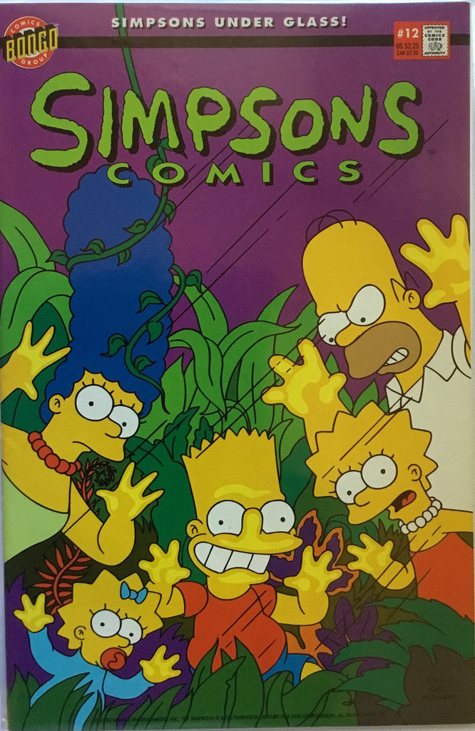 SIMPSONS COMICS # 12
