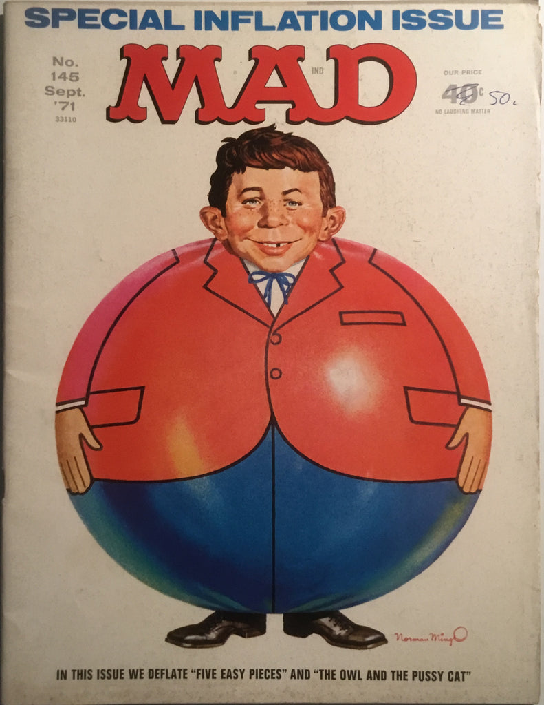 MAD MAGAZINE (USA) #145