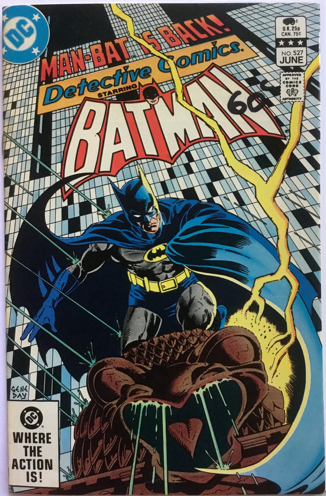 DETECTIVE COMICS starring BATMAN # 527 - Comics 'R' Us