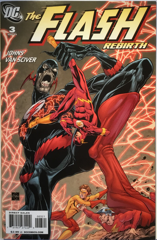FLASH REBIRTH # 3 (1:25 VARIANT) - Comics 'R' Us