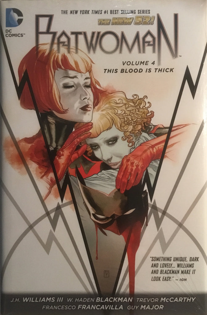 BATWOMAN (NEW 52) VOL 4 THIS BLOOD IS THICK HARDCOVER GRAPHIC NOVEL