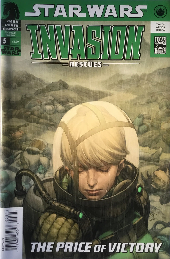 STAR WARS INVASION : RESCUES # 5