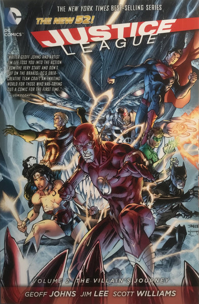 JUSTICE LEAGUE (THE NEW 52) VOL 2 THE VILLAIN'S JOURNEY GRAPHIC NOVEL