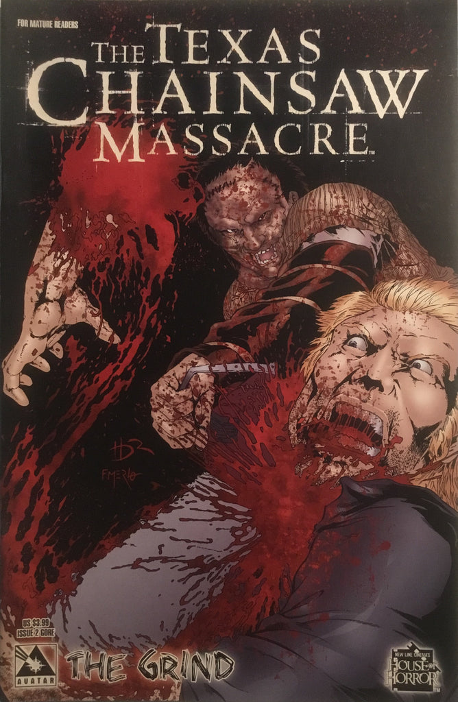TEXAS CHAINSAW MASSACRE THE GRIND # 2 GORE COVER