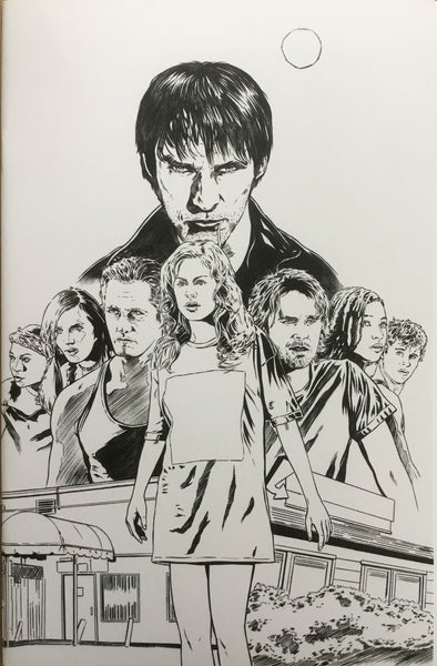 TRUE BLOOD # 5 CORRONEY SKETCH COVER (1:10 VARIANT)
