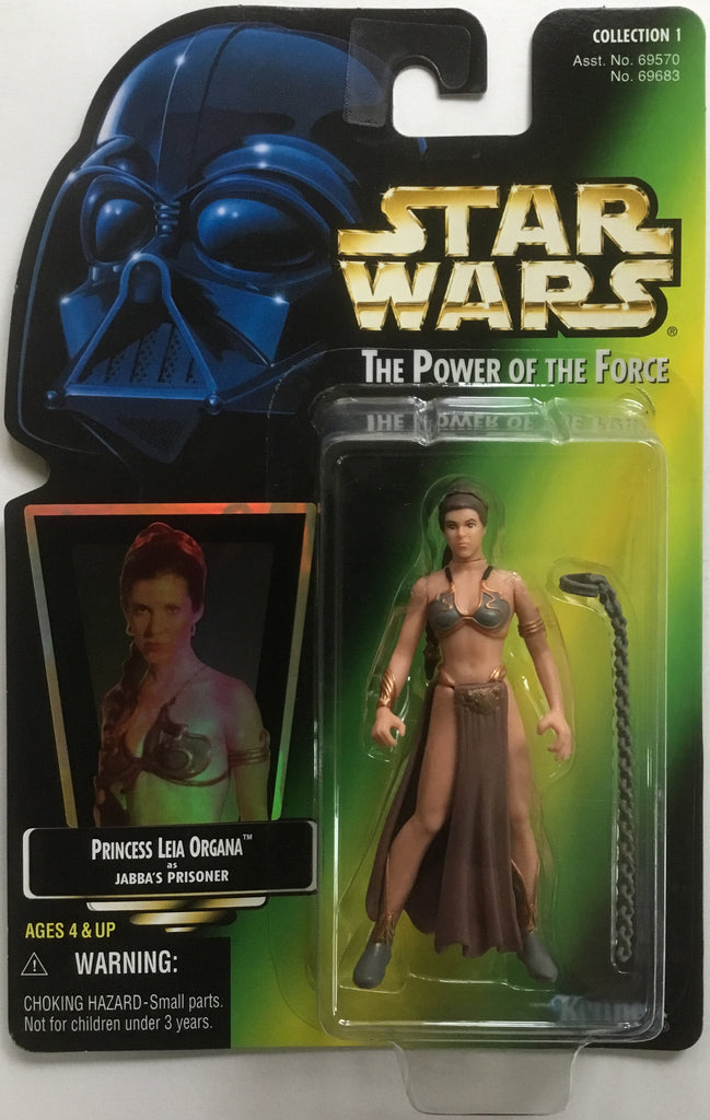 STAR WARS PRINCESS LEIA ORGANA AS JABBA'S PRISONER ACTION FIGURE 1997