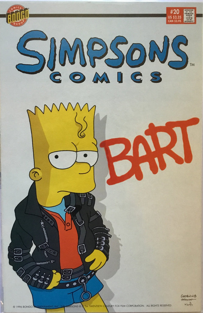 SIMPSONS COMICS # 20