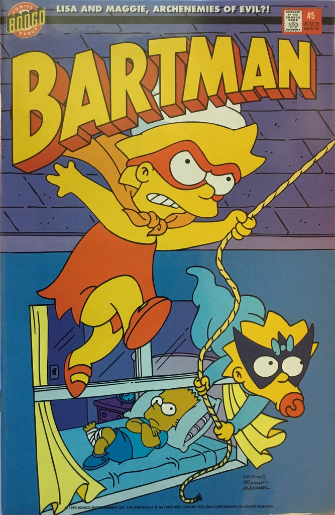 SIMPSONS BARTMAN # 5