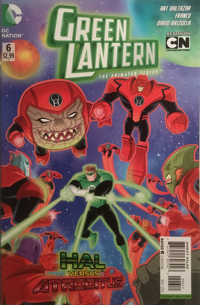 GREEN LANTERN THE ANIMATED SERIES # 6