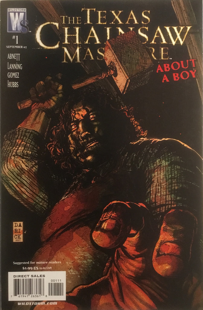 TEXAS CHAINSAW MASSACRE ABOUT A BOY # 1