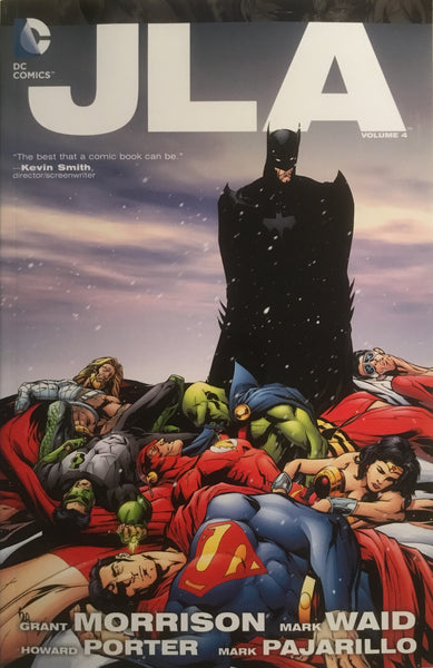JLA VOL 4 DELUXE EDITION GRAPHIC NOVEL