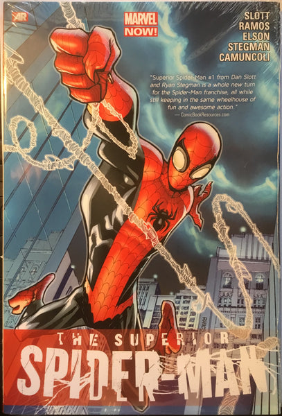 SUPERIOR SPIDER-MAN VOLUME 1 HARDCOVER GRAPHIC NOVEL