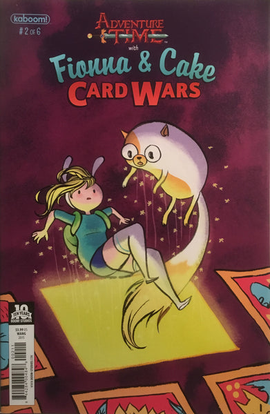 ADVENTURE TIME WITH FIONNA & CAKE CARD WARS #2 - Comics 'R' Us