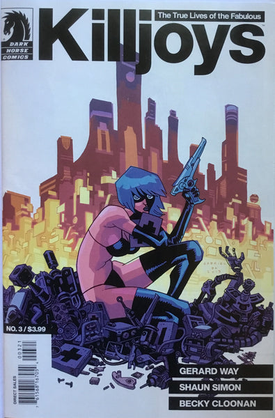 KILLJOYS (GERARD WAY) # 3 GABRIEL BA COVER (1:20 VARIANT)