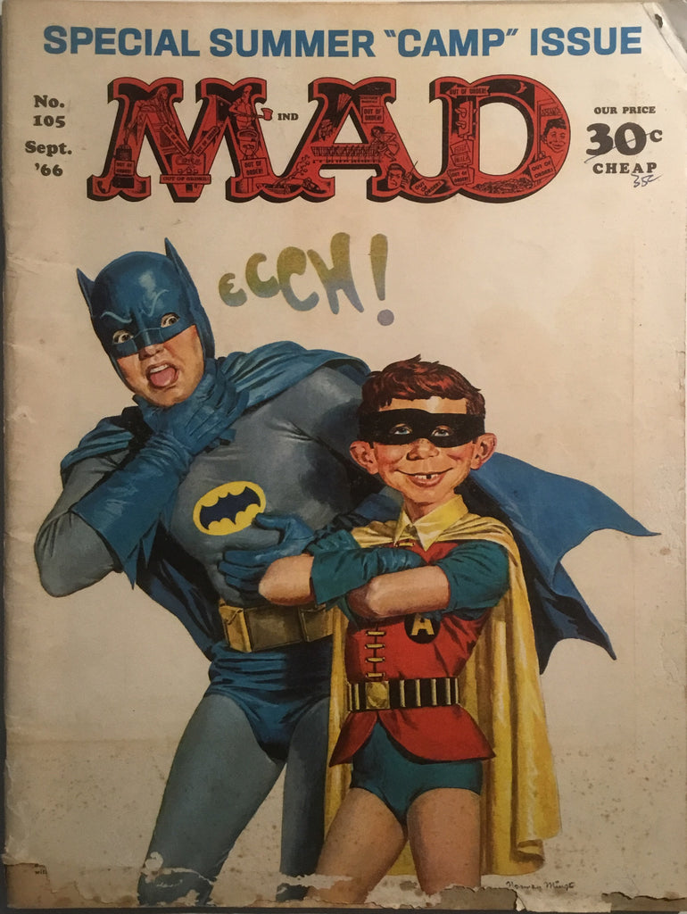 MAD MAGAZINE (USA) #105