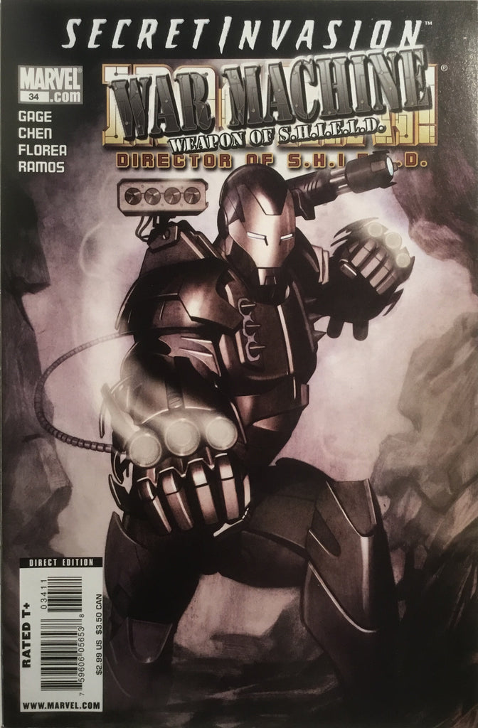 INVINCIBLE IRON MAN (VOL 4) DIRECTOR OF S.H.I.E.L.D. # 34 - Comics 'R' Us