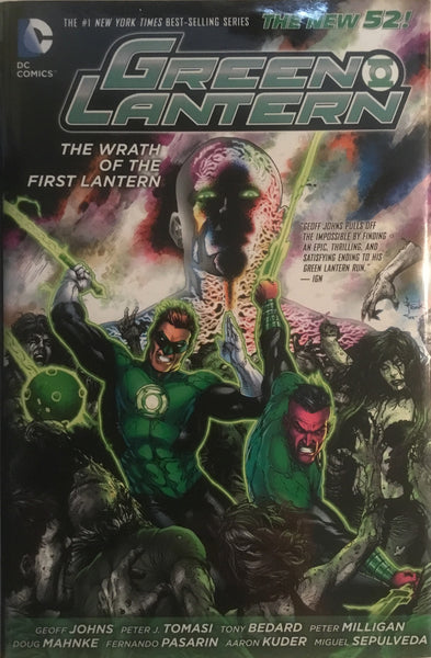 GREEN LANTERN (NEW 52) THE WRATH OF THE FIRST LANTERN HARDCOVER GRAPHIC NOVEL