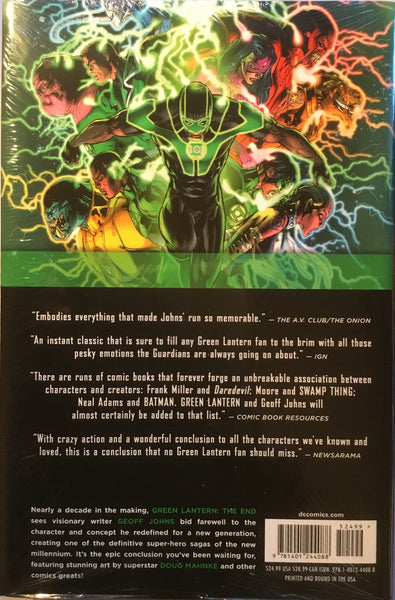 GREEN LANTERN (NEW 52) VOL 3 THE END HARDCOVER GRAPHIC NOVEL - Comics 'R' Us