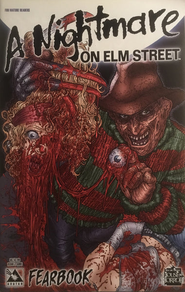A NIGHTMARE ON ELM STREET FEARBOOK # 1 GORE COVER - Comics 'R' Us