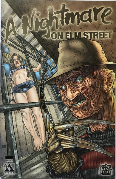 A NIGHTMARE ON ELM STREET SPECIAL # 1 LIMITED PLATINUM FOIL EDITION - Comics 'R' Us