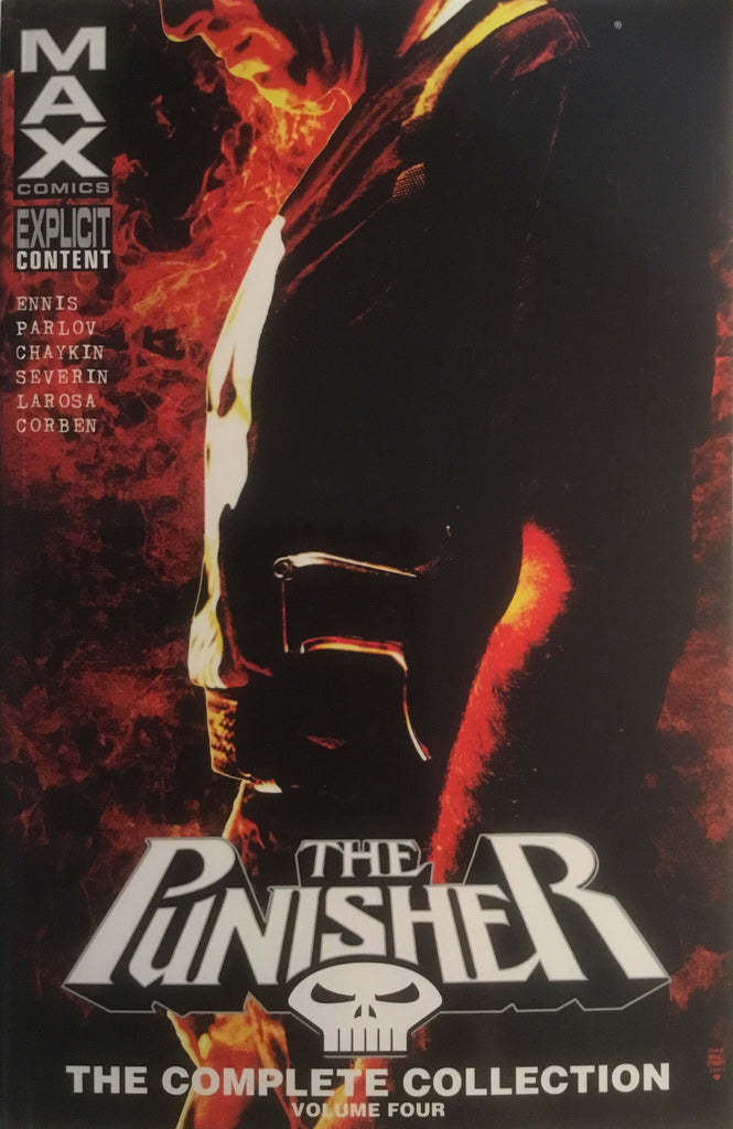 PUNISHER MAX THE COMPLETE COLLECTION VOLUME 4 GRAPHIC NOVEL