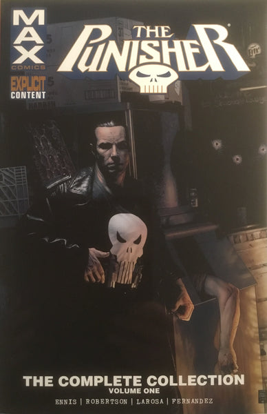 PUNISHER MAX THE COMPLETE COLLECTION VOLUME 1 GRAPHIC NOVEL