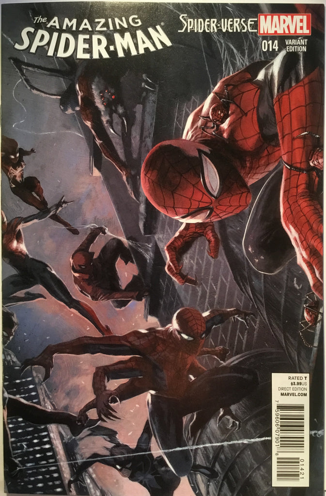 AMAZING SPIDER-MAN # 14 (2015) DELLOTTO 1:25 VARIANT - Comics 'R' Us