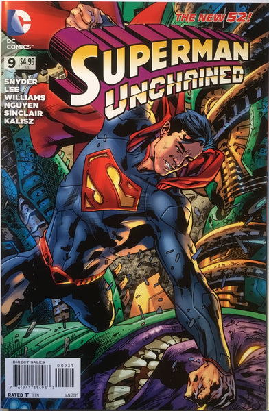 SUPERMAN UNCHAINED # 9 HITCH 1:50 VARIANT