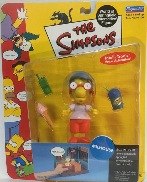 SIMPSONS WORLD OF SPRINGFIELD MILHOUSE INTERACTIVE FIGURE