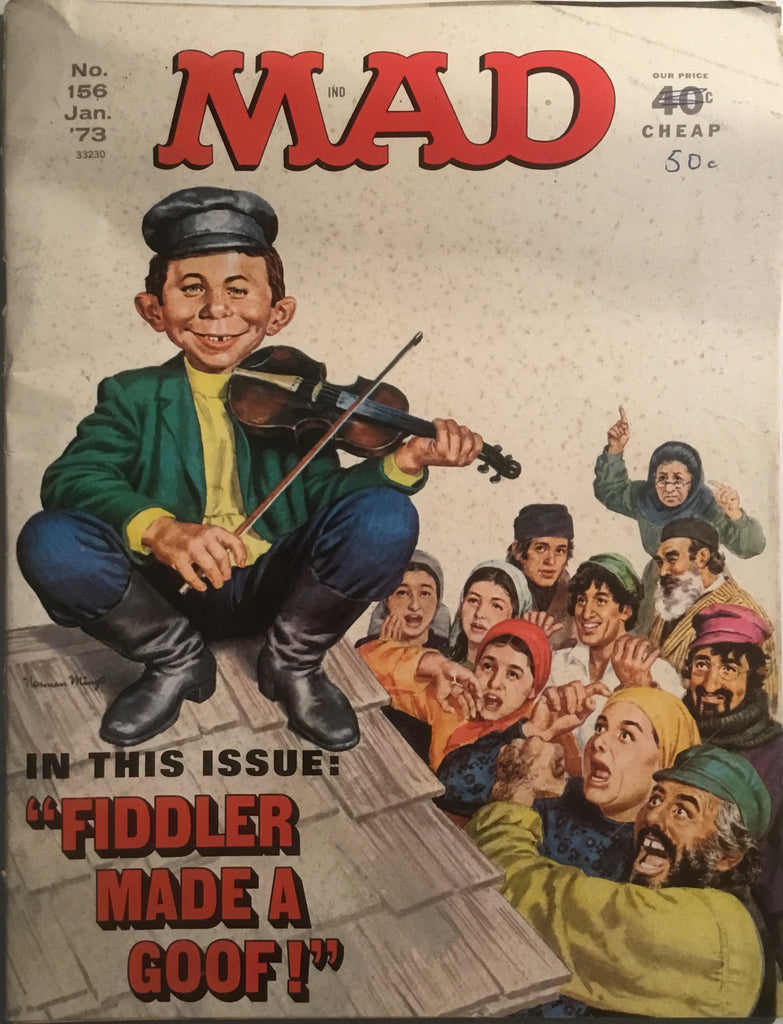 MAD MAGAZINE (USA) #156