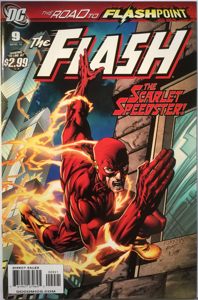 FLASH # 9 (1:10 VARIANT) 2011 - Comics 'R' Us