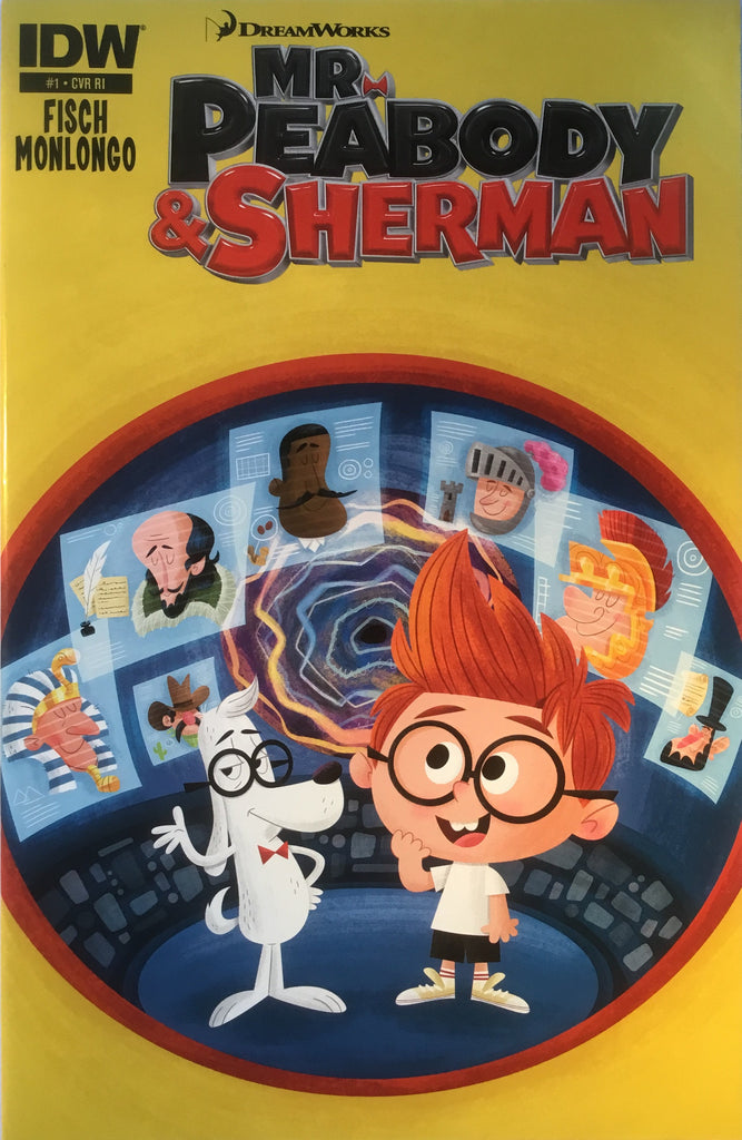 MR PEABODY & SHERMAN # 1 (1:10 VARIANT COVER)