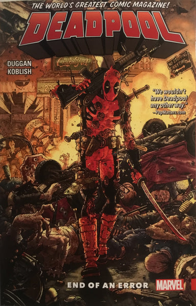 DEADPOOL WORLD'S GREATEST VOL 2 END OF AN ERROR GRAPHIC NOVEL - Comics 'R' Us