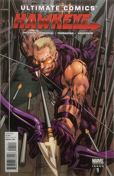 ULTIMATE COMICS HAWKEYE # 1 NEAL ADAMS 1:25 VARIANT COVER
