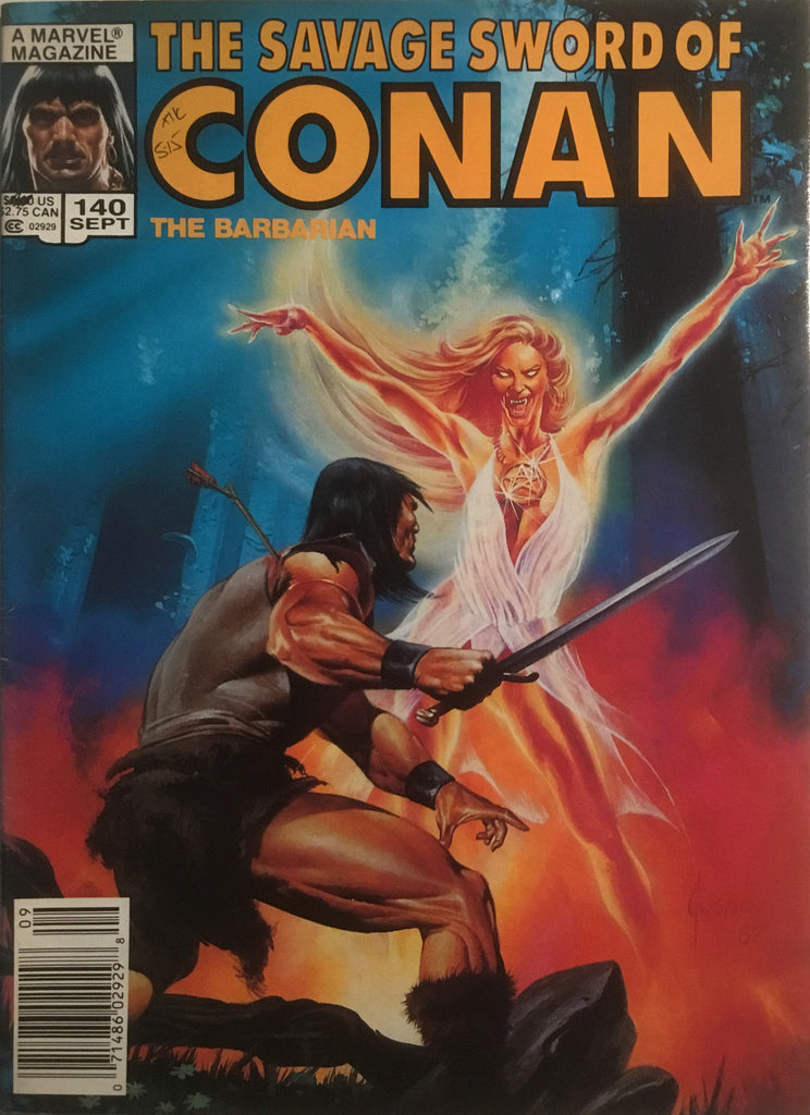 THE SAVAGE SWORD OF CONAN #140