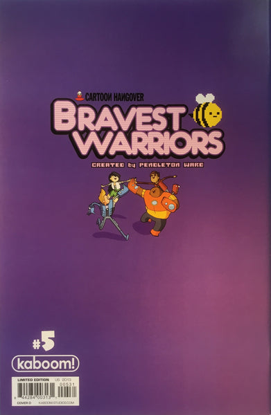 BRAVEST WARRIORS # 5 (1:20 VARIANT COVER)