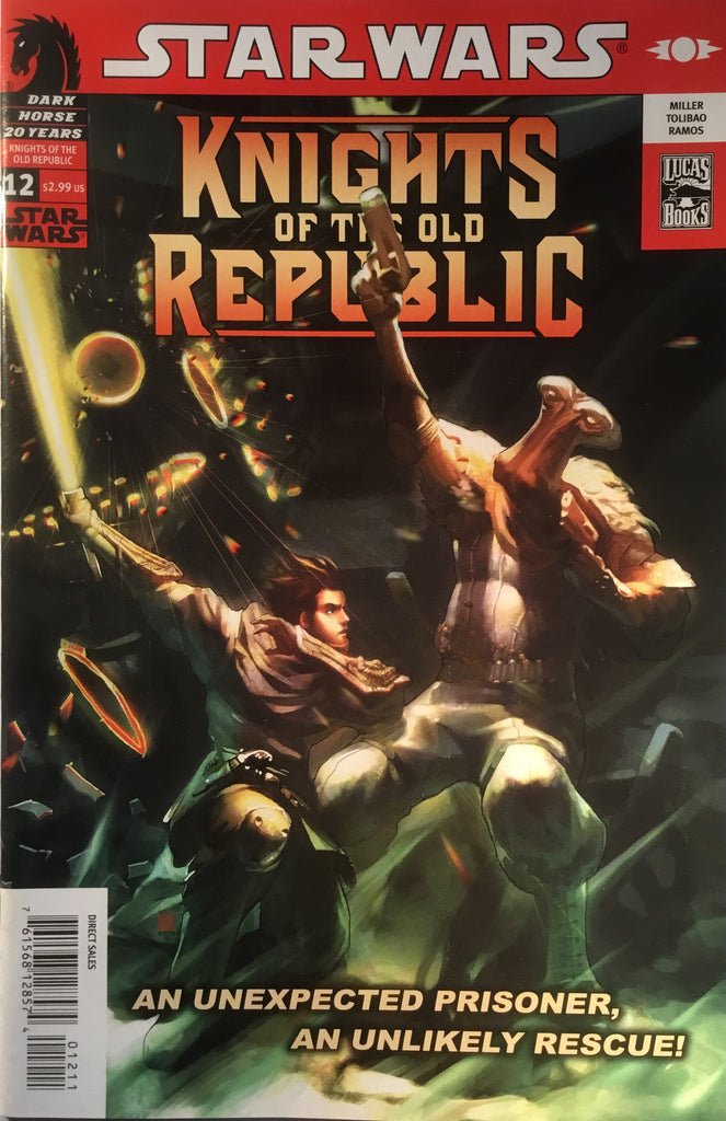STAR WARS KNIGHTS OF THE OLD REPUBLIC # 12