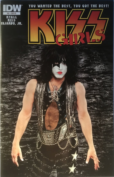 KISS GIRLS # 6 PAUL STANLEY PHOTO COVER (1:10 VARIANT)